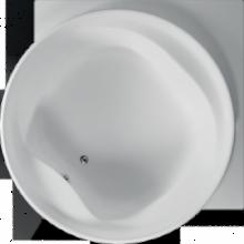 Vana plastová Teiko tvarovaná Borneo-R 177x177x49cm bílá