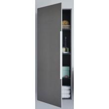 Nábytek skříňka Duravit Happy D 2 polovysoká 3 skleněné police 500x240y1320 mm bílá vysoký lesk