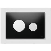 Předstěnové systémy TECE TECEloop 9.240.656  sklo černé/lesklý chrom