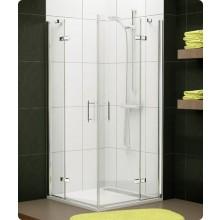 Zástěna sprchová dveře Ronal sklo Pur Light PLE2D 0800 50 07 800x2000mm aluchrom/čiré AQ