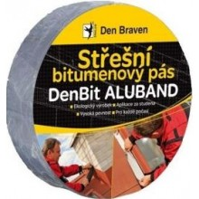 DEN BRAVEN DEN BIT ALUBAND střešní páska 50mmx10m, izolační, lepivá, hliníková
