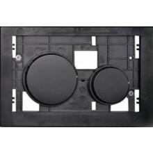 TECE LOOP tlačítková deska 208x136mm, pro kryty, černá