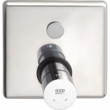 """AZP BRNO AUS 13.2 sprchová baterie G1/2"""" se směšovacím ventilem, ovládaná piezotlačítkem, automatická, nerez"""