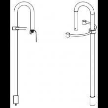 KALDEWEI madlo Pool-Griff 5871, chrom 587170000999