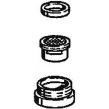HANSA perlátor M24x1, zajištění proti krádeži, chrom