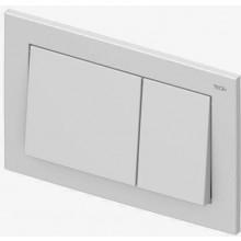 TECE BASE ovládací tlačítko 214x145mm, pro WC, dvoumnožstevní splachování, bílá