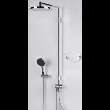 ORAS HYDRA sprchový set DN15 s hlavovou a ruční sprchou, chrom