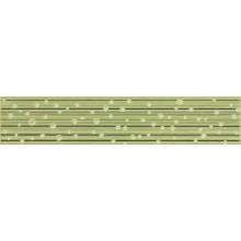 Listela Rako Delta 25x5 cm zelená