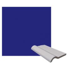 RAKO POOL přelivová hrana 20x11,5cm, tmavě modrá
