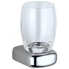Doplněk sklenička Keuco Mango  chrom/sklo čiré