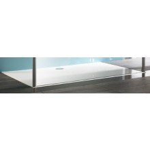 HÜPPE MANUFAKTUR EASY STEP vanička 1500x1000mm litý mramor, bílá 215131.055