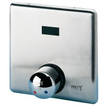 SANELA SLS02B ovládání sprchy, 9V, automatické, se směšovací baterií pro teplou a studenou vodu