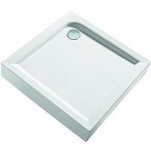 Vanička plastová Kolo čtverec First 90x90cm bílá