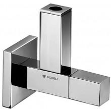 SCHELL QUAD rohový ventil DN15, designový, chrom, 053620699