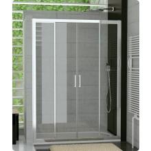 TOPS4: Dvoudílné posuvné dveře s 2 pevnými stěnami v rovině