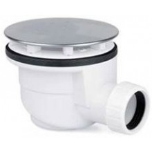 EASY sifon 90mm vaničkový, chrom/plast