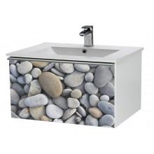 Nábytek skříňka s umyvadlem Dřevojas IMAGE 90 890x420x450 mm kámen