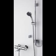 ORAS ETERNA & NATURA vanová baterie DN15 termostatická se sprchovým setem, chrom