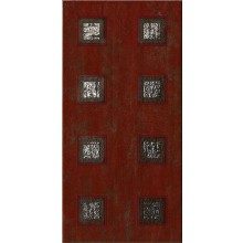 IMOLA ANDRA dekor 20x40cm red, TANT R1