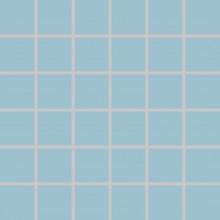 RAKO COLOR TWO mozaika 30x30cm, lepená na síťce, světle modrá