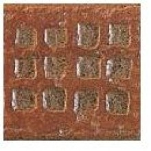 MONOCIBEC COTTO DELLA ROSA dekor 8x8cm, angolo sassolo