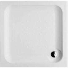 Vanička plastová Jika čtverec vestavná 90x90 cm bílá
