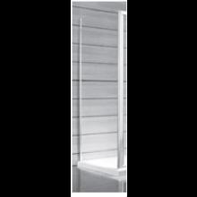 JIKA LYRA PLUS pevná stěna 800x1900mm, stripy