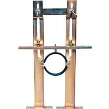 SANELA SLR 03Z rám, Ø 110, předstěnový, se splachovačem, pro závěsná WC