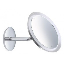 Doplněk zrcadlo Keuco Bella Vista 17605019000 průměr 218 mm chrom