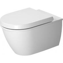 WC závěsné Duravit odpad vodorovný Darling New, rimless  bílá+wondergliss