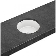 VILLEROY & BOCH ARCHITECTURA umyvadlo ø 340mm k zabudování zespodu, bez přepadu Bílá Alpin CeramicPlus 417541R1