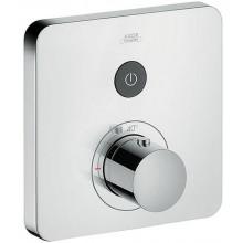 AXOR SHOWERSELECT SOFT podomítkový termostat 170x170mm pro 1 spotřebič, vrchní sada, chrom