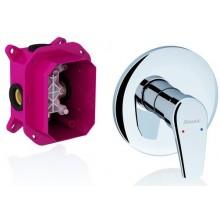 RAVAK NEO 066.00 podomítková baterie 170x134x168mm bez přepínače, pro R-BOX