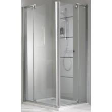 Zástěna sprchová obdelník Huppe sklo Classic elegance 800x900x1900 mm stříbrná matná/čiré