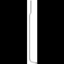 GEBERIT splachovací trubka 156cm, dozadu odskočená, se 2 trubkovými pásky
