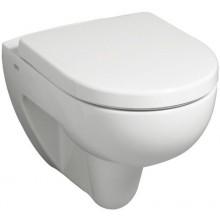 WC závěsné Keramag odpad vodorovný Renova Nr.1 Comprimo bez splachovacího kruhu 6l bílá+KeraTect