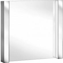 KEUCO ELEGANCE koupelnové zrcadlo 1300x635mm, s osvětlením, bílá/bílá