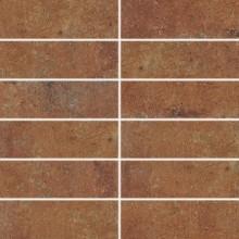 RAKO SIENA dekor 45x45cm červenohnědá DDP44665