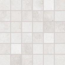 RAKO FORM mozaika 30x30cm, lepená na síťce, světle šedá