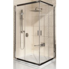 RAVAK BLIX BLRV2K 100 sprchový kout 980-1000x1900mm rohový, posuvný, čtyřdílný bílá/transparent 1XVA0100Z1
