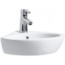 LAUFEN PRO B rohové umývátko 440x380mm s otvorem, bílá 8.1695.8.000.104.1
