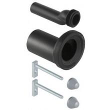GEBERIT připojovací souprava pro WC 18x9cm, excentrická s připevňovacím materiálem, 405.116.00.1