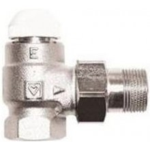 """HERZ TS-E termostatický ventil 3/4"""" plnoprůtočný, rohový, pro jednotrubkové a samotížné soustavy"""
