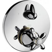 AXOR CARLTON termostatická baterie pod omítku s uzavíracím a přepínacím ventilem chrom 17725000