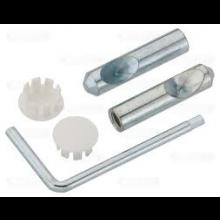 VILLEROY & BOCH uchycení a montážní klíč pro WC