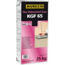 MUREXIN FLEX KGF 65 malta lepící 25kg, flexibilní, vodovzdorná, mrazuvzdorná, pro tenkovrstvé lepení, šedá