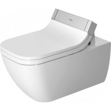 WC závěsné Duravit odpad vodorovný Happy D.2 SensoWash, rimless 36,5x62 cm bílá+WonderGliss