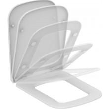 IDEAL STANDARD MIA klozetové sedátko 360x465x35mm, ultra ploché, Soft-close, bílá