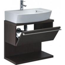 Nábytek skříňka pod umyvadlo Roca Senso dvířka+bočnice nízká 35,3x22,6x19,1 cm šedá metalíza