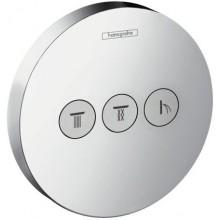 Ventil podomítkový Hansgrohe - Shower Select S 3 spotřebiče, vrchní sada  chrom